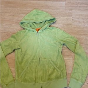 Lime green juicy jacket size small